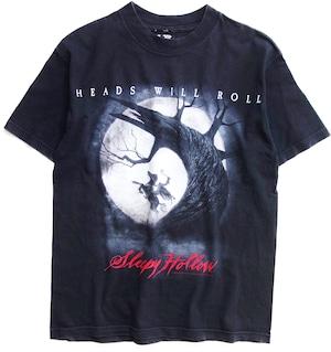 90年代 スリーピー・ホロウ 映画 Tシャツ 【M】   Sleepy Hollow ティム・バートン ホラー ヴィンテージ 古着