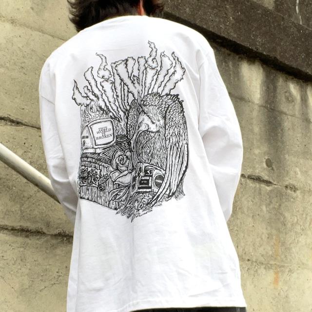 【WillxWill × Musollon】スペシャルコラボレーション Vulture Long Sleeve White