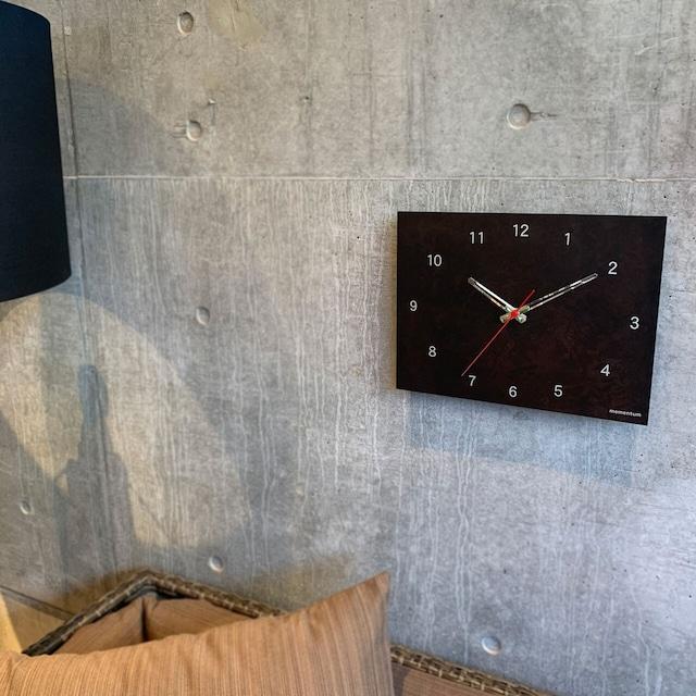 掛け時計  time and space momentum factory