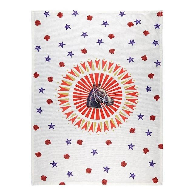 BITOSSI HOME - Tea Towel - Bel Paese Horse Subject