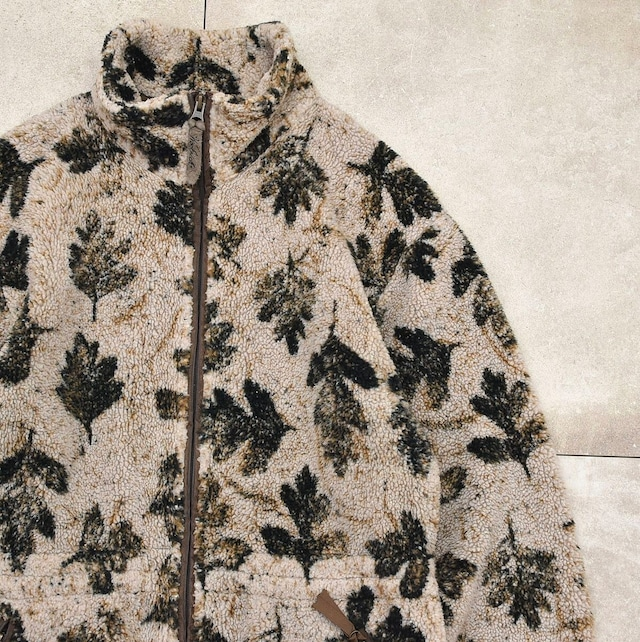 90's Woolrich full pattern boa jacket Made in USA