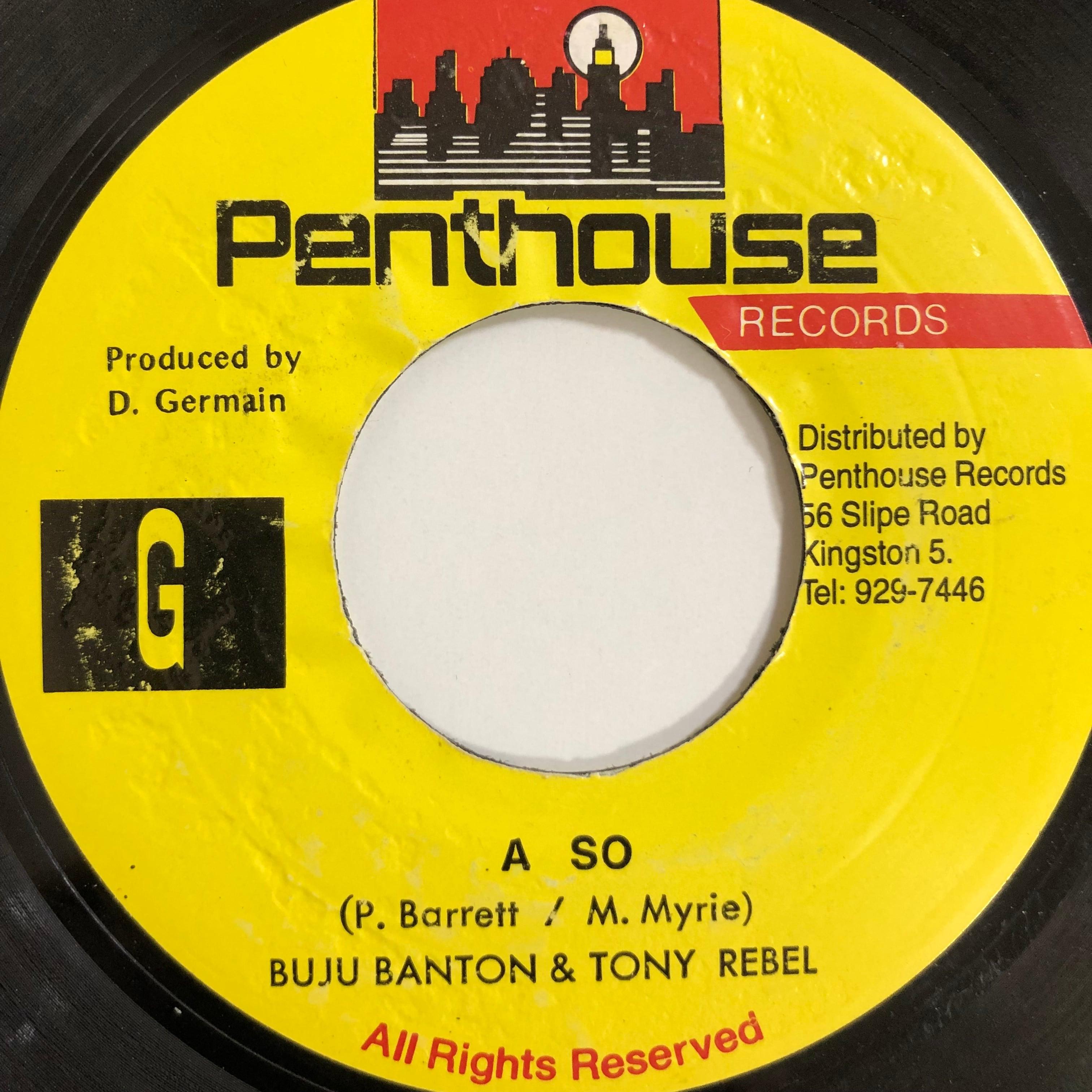 Buju Banton & Tony Rebel - A So【7-20009】