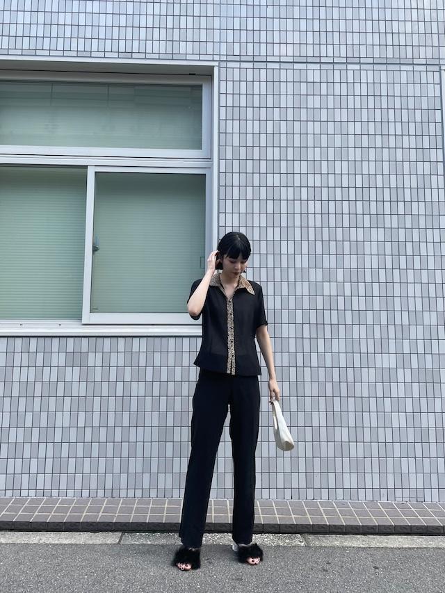 leopard shirt / 7SSTP28-16