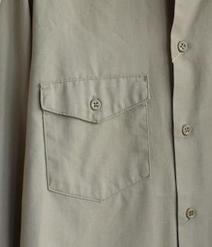 VINTAGE 70s LEE WORK SHIRT -MADE in USA-
