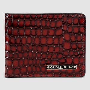 ゴールドブラック(GOLDBLACK) GM WALLET MILANO BROWN