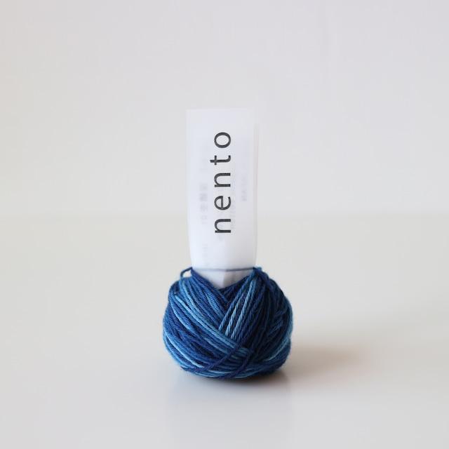 nento|深縹杢01(藍染)