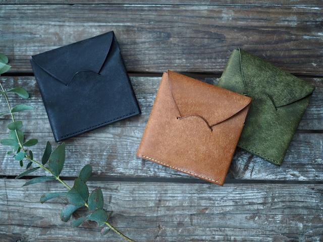 [Lettera] slim wallet/ ミニマムな二つ折り財布
