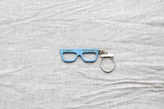 【フランス】メガネのキーホルダー/ J.BERNY