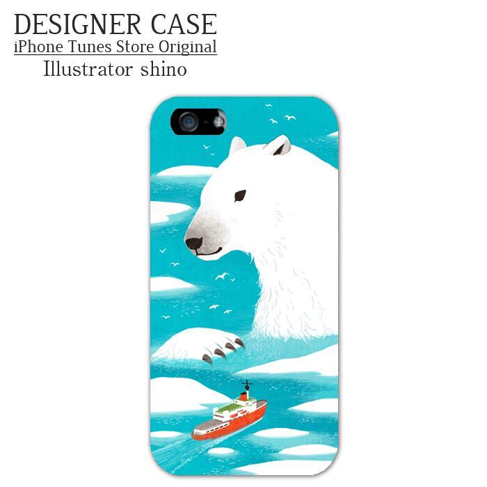 iPhone6 Plus Hard Case[shirokuma] Illustrator:shino