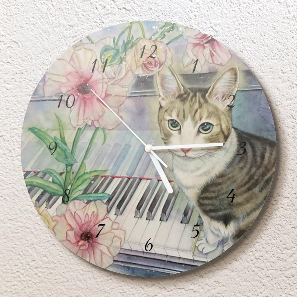 幸せのセレナーデ壁掛け時計(L)