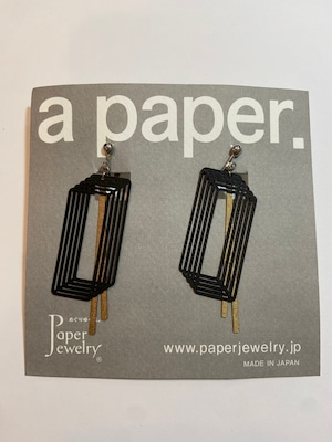 【Paper Jewely】ループ/イヤリング