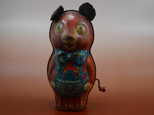 Ho Ho Ho Little Brow Bear ブリキのくま アメリカンビンテージ