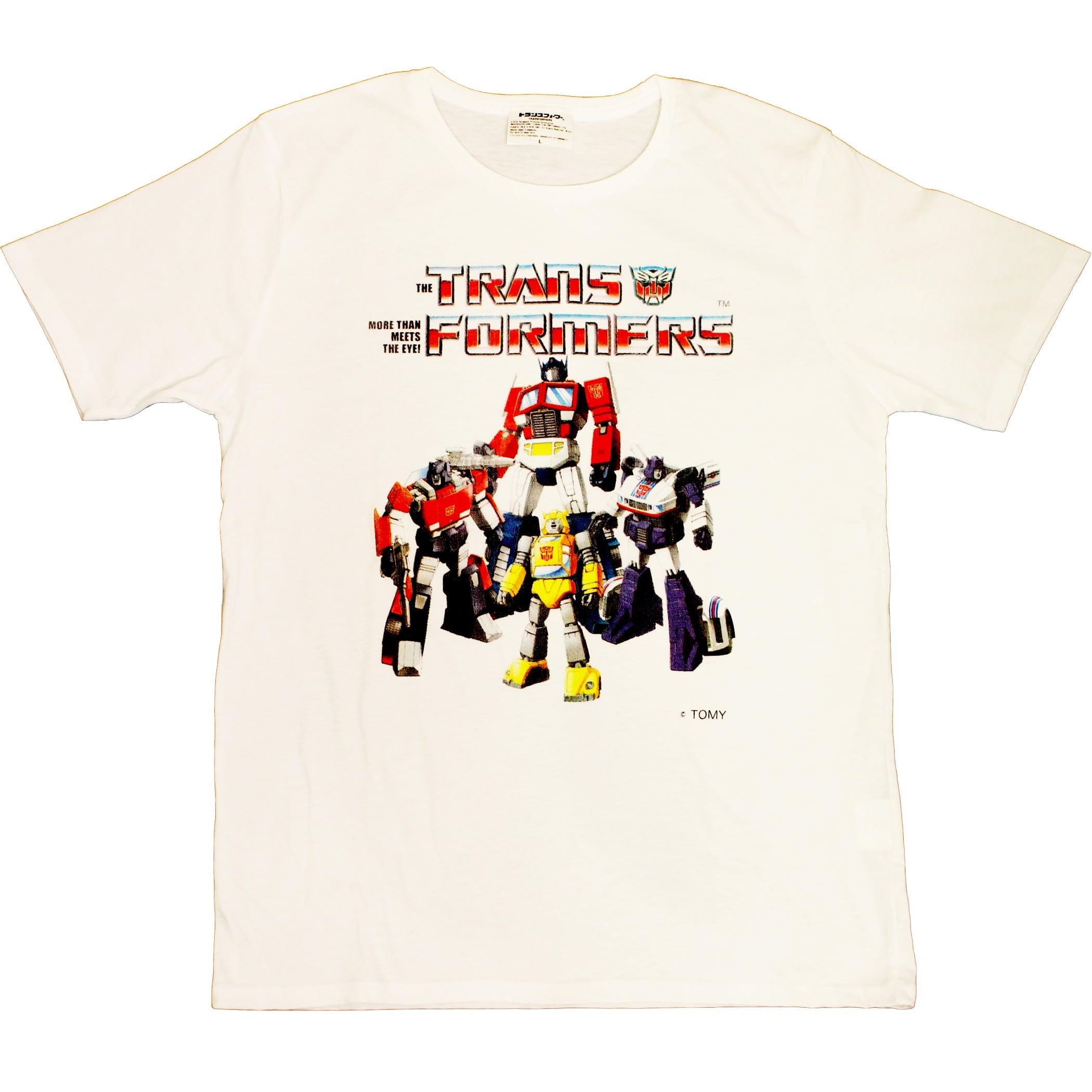 【トランスフォーマー】戦え!超ロボット生命体トランスフォーマー チームサイバトロン Tシャツ