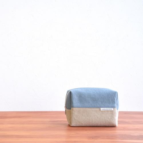 CANVAS BOX POUCH M / IG×GB