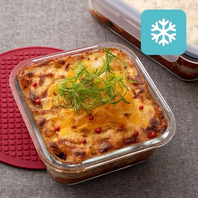 【冷凍保存配送】5種チーズのラザニア風(2人前)