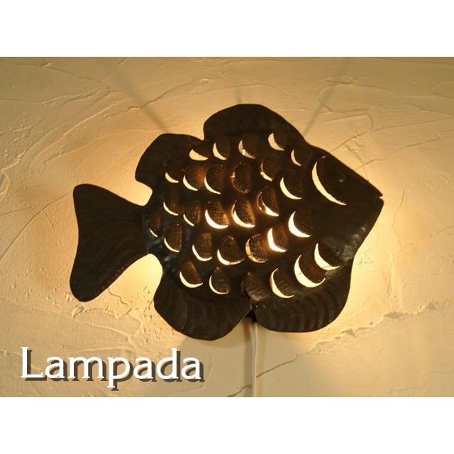 〔新洋電気〕 MAB195 マダガスカル・魚・ブラケットライト
