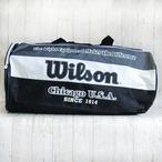 ウィルソン トラベルバック 黒 ナイロン製