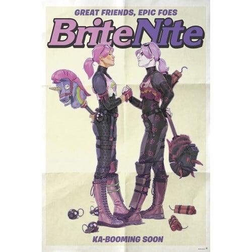 『フォートナイト』ポスター  (3)  BRITE NITE   / エンスカイ