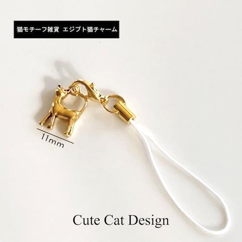 【送料込み】エジプト猫チャーム(メール便)