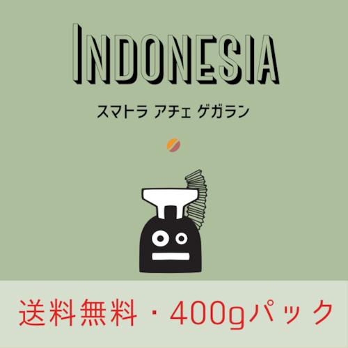 (送料無料)インドネシア スマトラ アチェ ゲガラン (400g)