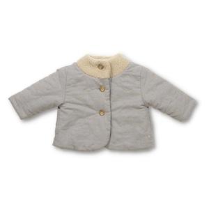 Little s.t. by s.t.closet シャボン刺繍リバーシブルコート
