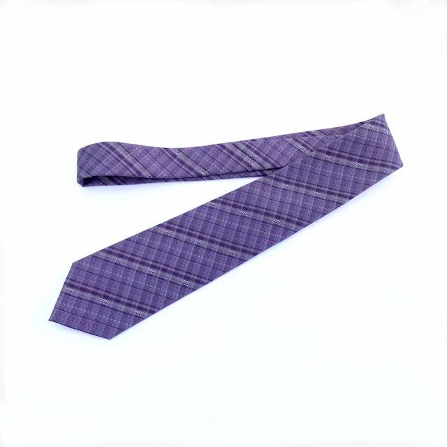 【シルクネクタイ】purple