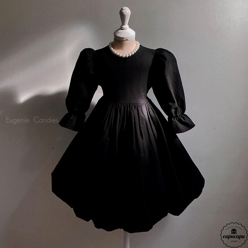 «sold out» One Day for The Celebration Dress may black メイバルーン ワンピース