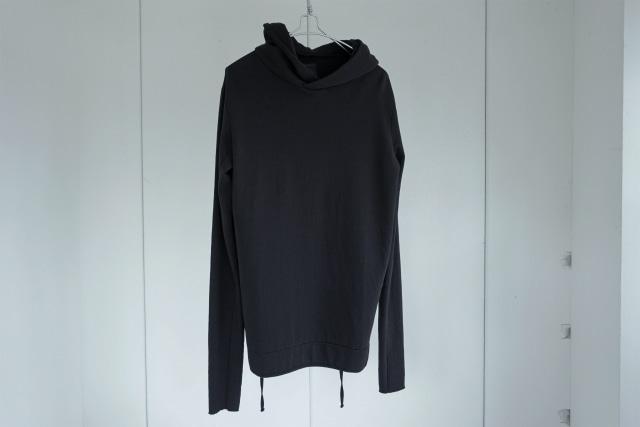 thom krom / Code hoodie / BLK