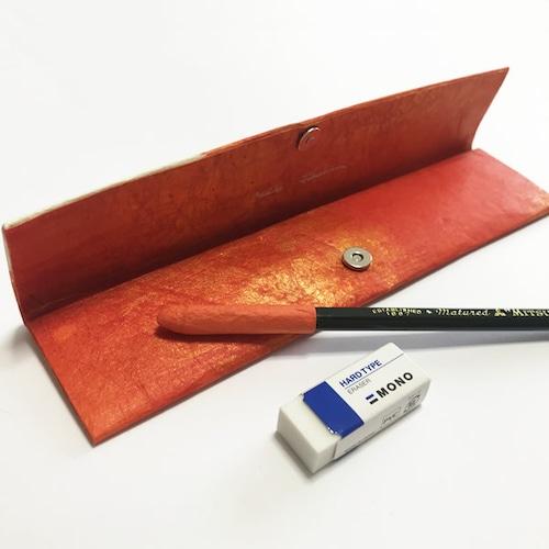 和紙のペンケース No.523