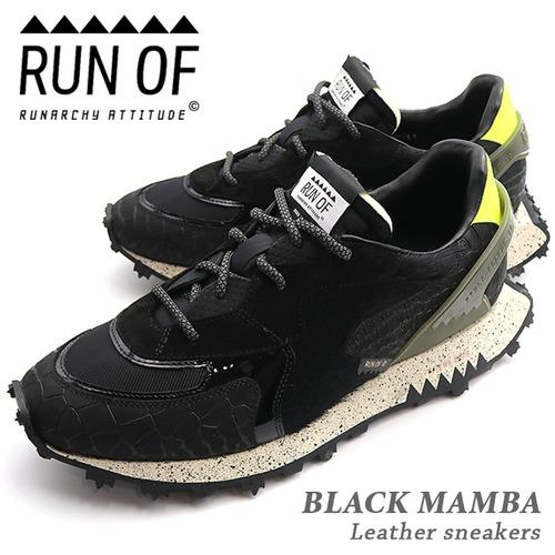 RUN OF/ランオブ BLACK MAMBA RUN20 ブラックマンバ