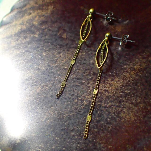 decoravive chain earrings
