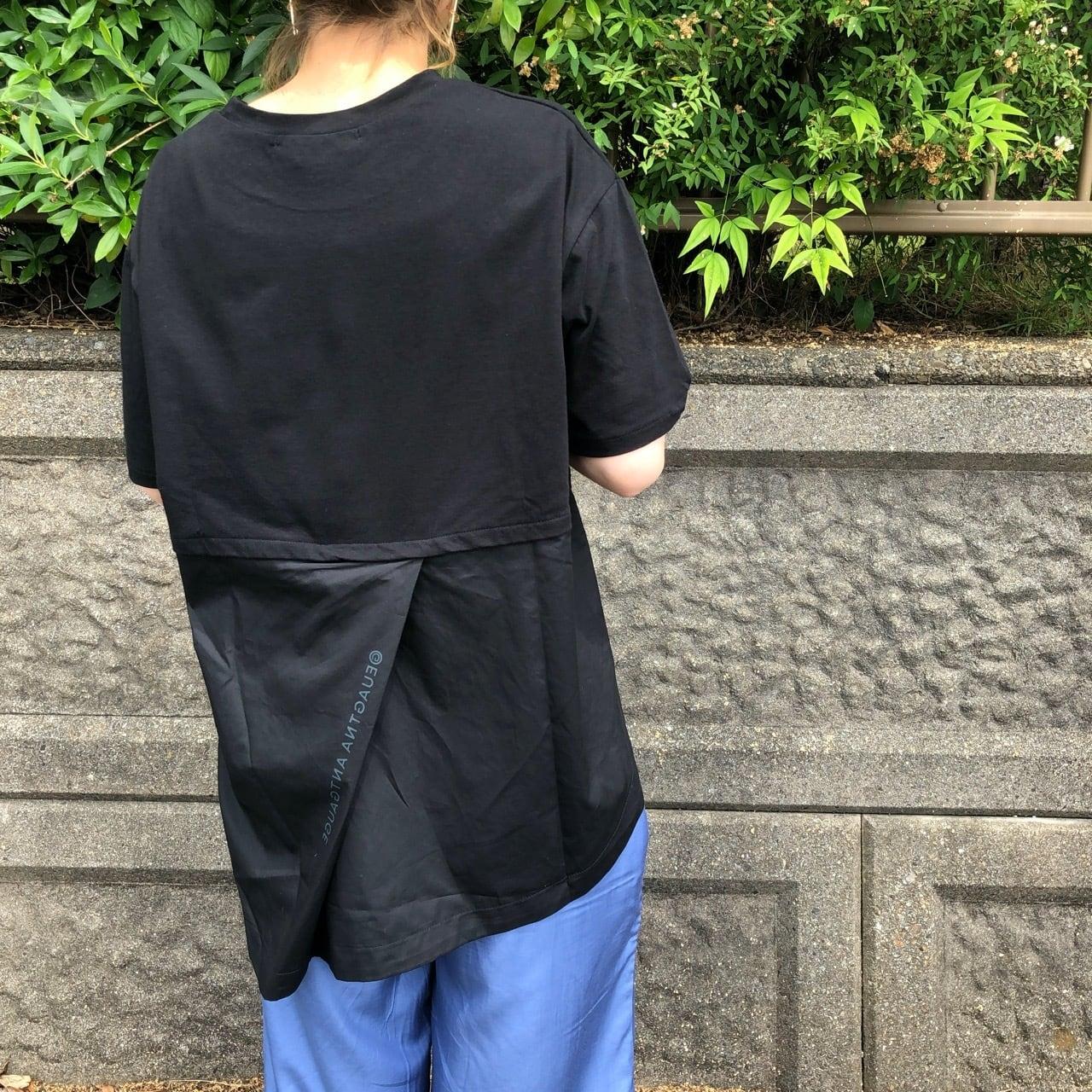 【 ANTGAUGE 】- AB906 - 切り替えバックロングTシャツ