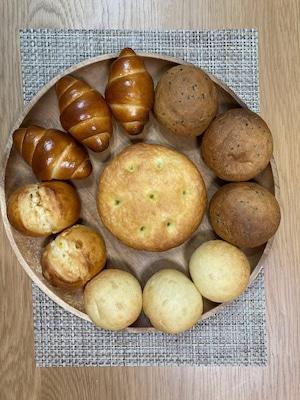 ★有機カムート100%使用 5種 おまかせパン