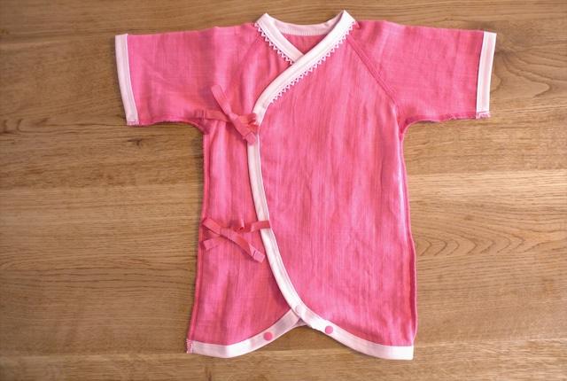 低出生体重児(未熟児)コンビ肌着 40~50サイズ ピンク