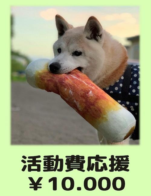 活動費応援(寄付) ¥10,000
