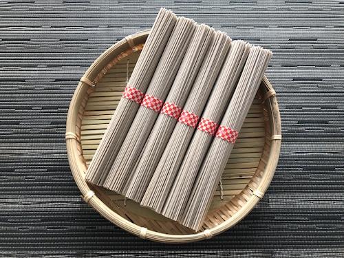 手延べ麺 蕎麦風味 6束