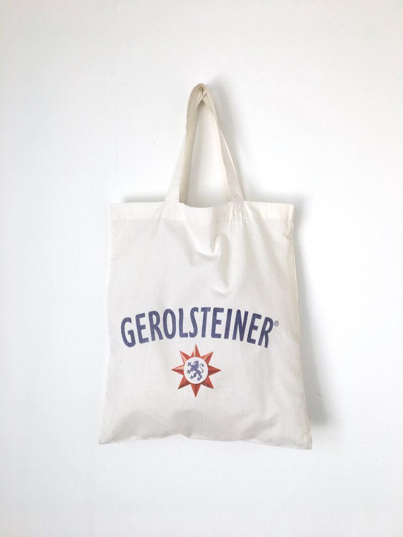"""ユーズドのトートバッグ「ゲロルシュタイナー」 Used Tote Bag """"GEROLSTEINER"""""""