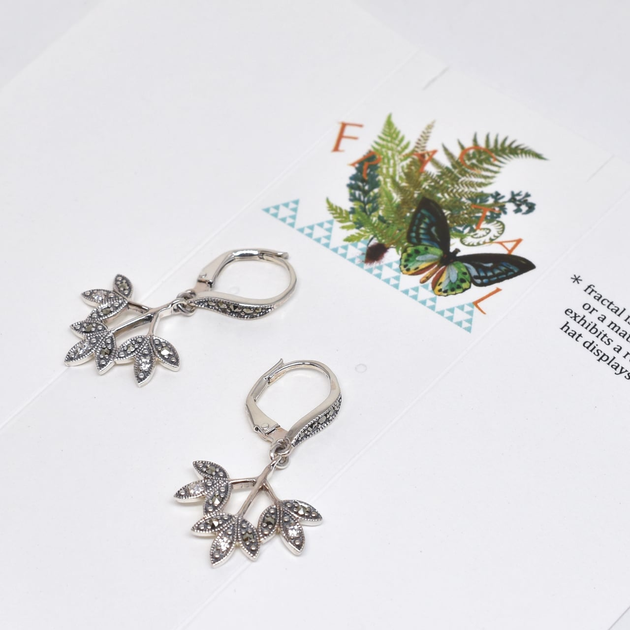 packaged collection Fractal Earring
