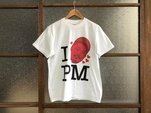 "I LOVE PM TEE ""マグフォリア公認ブートTシャツ""  (PxMA WHITE-PUMx BLACK-TAKAYA'S RED)"