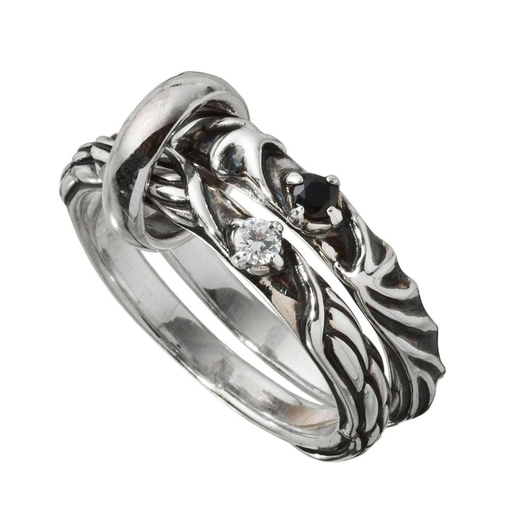 デビエンチェインリング ACR0269 Devil & Angel Chain Ring