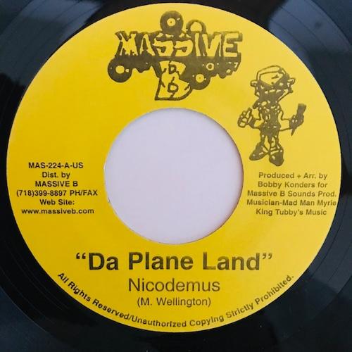 Nicodemus - Da Plane Land【7-10970】