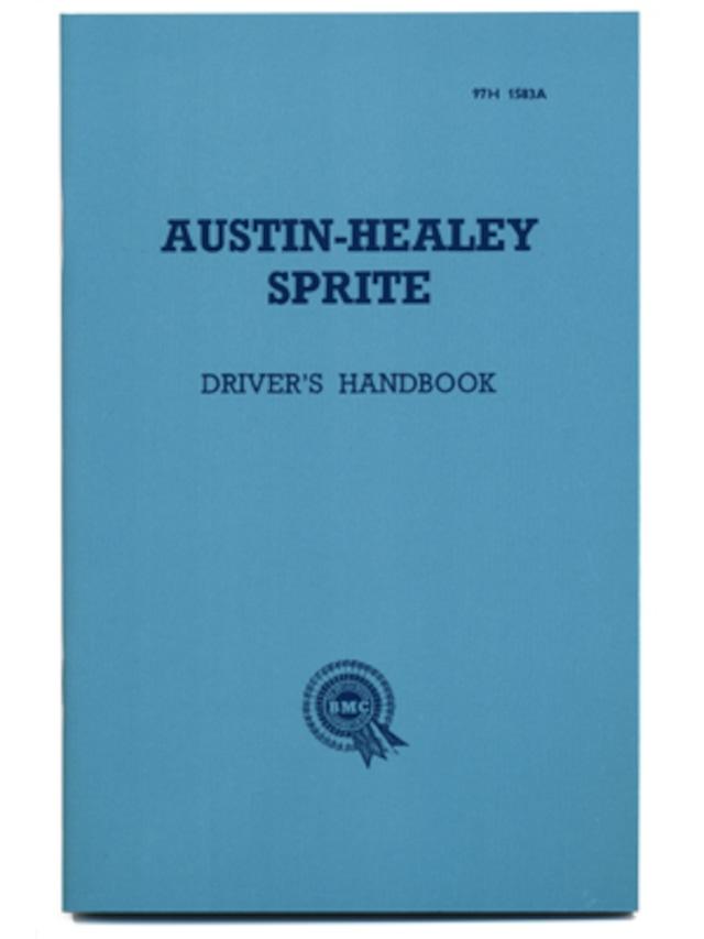 オースティン・ヒーレー・スプライト・MK1・ドライバーズ・ハンドブック・1958-1961