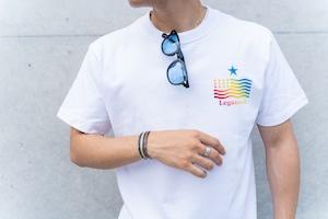 【star logo rainbow T-shirt】
