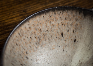 耳付きスープボウル 白 大サイズ(スープ皿・ボウル)/山本雅則