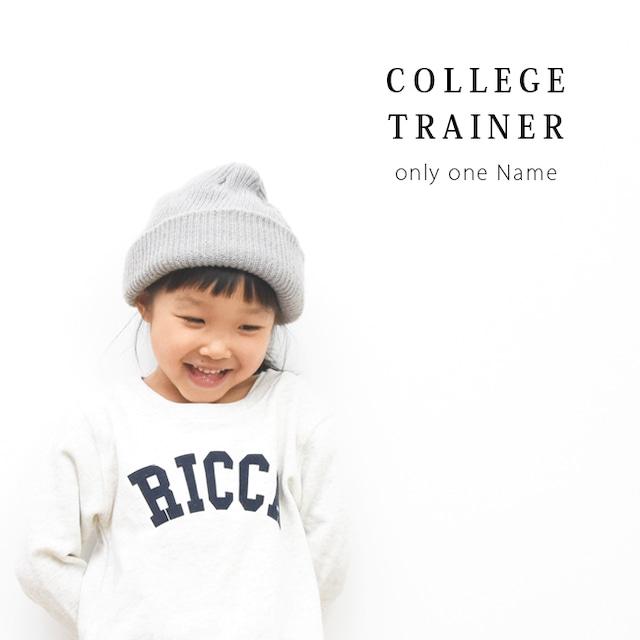 【名入れ】ORICLO オリクロ COLLEGE トレーナー