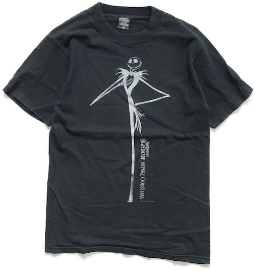 90年代 ナイトメア・ビフォア・クリスマス 映画 Tシャツ 【M】 | ヘンリー・セリック ティム・バートン ホラーTシャツ アメリカ ヴィンテージ 古着