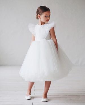 子供ドレス キッズドレス レース ベビードレス  女の子ドレス キッズフォーマルドレス ワンピース セレモニードレス 七五三 80cm-160cm 8335