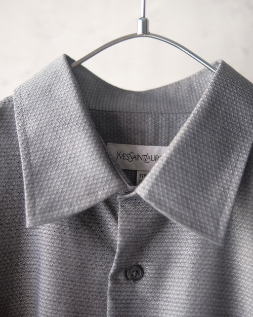 YSL gray design shirt