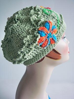 ベレー帽 <ライトグリーン>