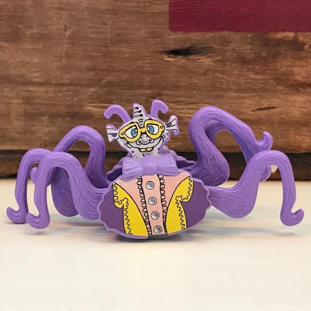 キンダーサプライズ 奇妙な生物 魚人 (紫色)